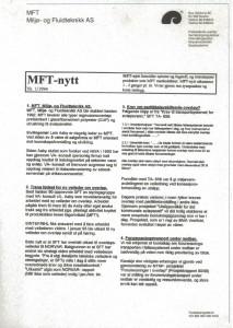 Nyhetsbrev 1994-01